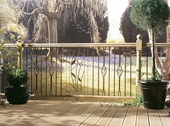 Traditional Metal Baluster with Multi-Rail Deck (Richard Burbidge) Tags: decks decking deckrailing deckboards wooddecking gardendecking richardburbidge deckingbalustrade deckingrails deckingbalustrades