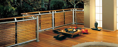 Contemporary Fusion Slatted Panel Deck (Richard Burbidge) Tags: decks decking deckrailing deckboards wooddecking gardendecking richardburbidge deckingbalustrade deckingrails deckingbalustrades