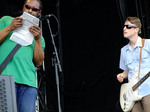 The Gories at Ottawa Bluesfest 2010