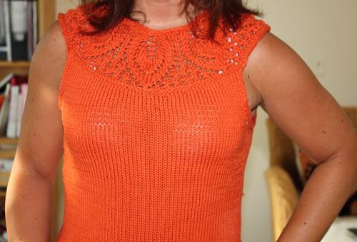 orangeleafyoketop front closeup