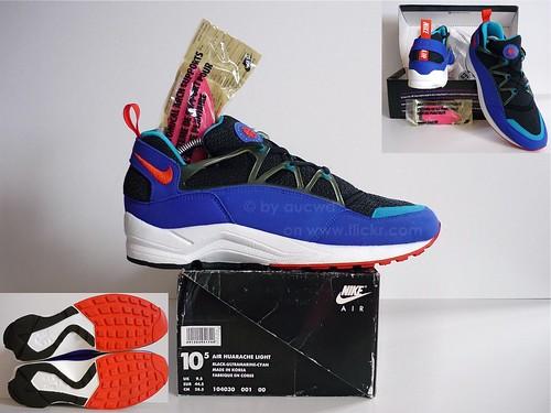 101eb9e7b3d7f ... amazon unworn 80s 90s vintage nike air huarache light shoes ebe6c 07f24