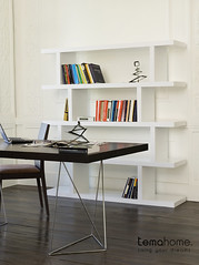 Step & Multi Home Office (TemaHome - Living Your Dreams) Tags: design shell bookshelf step tables bookcases homeoffice escritorio moderno multi mesas estante mobiliario rotativa