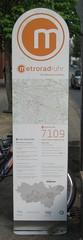 metroradruhr: Infosäule (am Schauspielhaus in Bochum)