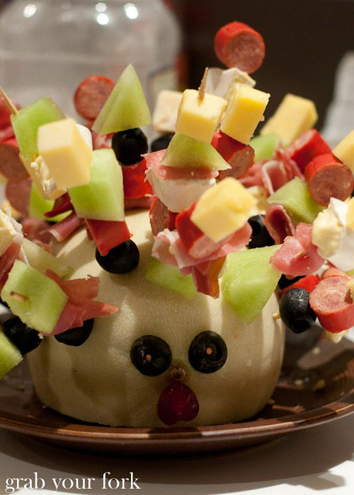 Antipasto hedgehog
