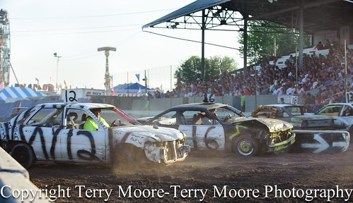 Double Figure 8 Race Lycoming County Fair-7