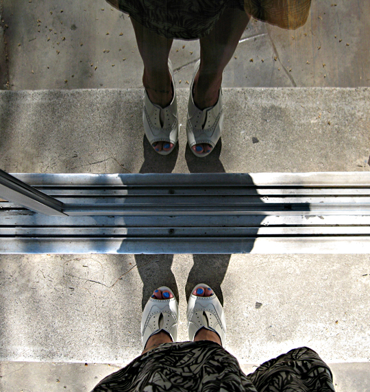 oxford wedges+ivory slingback wedges+vera wang shoes