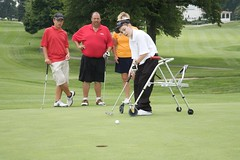 Sam Ward at the Ranken Jordan 6th Annual Golf Tournament