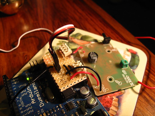 Full soldered doorbell + arduino
