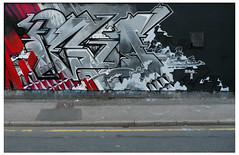 (TEAONE 9N069T) Tags: geometric wall clouds graffiti sketch northwest tea smoke cartoon bubbles diamond preston outline blackbook nsa teaone 9no69t