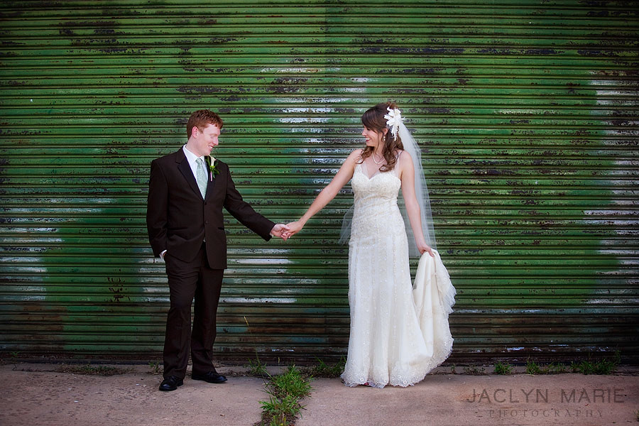 Contemporary wedding photos.