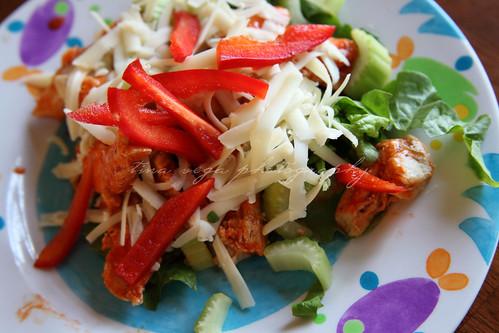buffalo chix salad