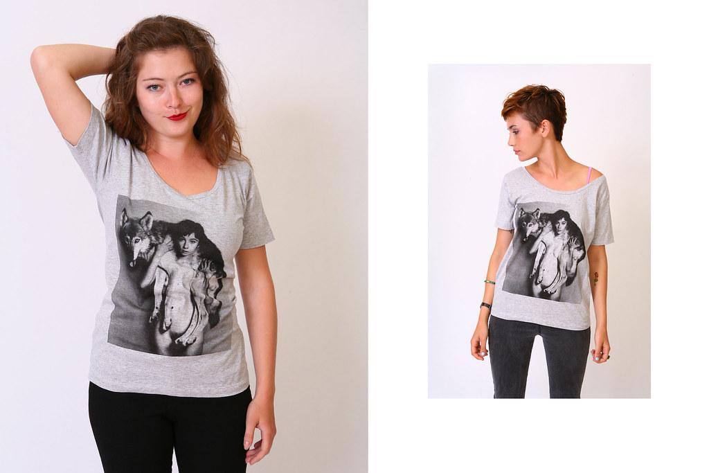 Wolf Girl / Boyfriend Tee