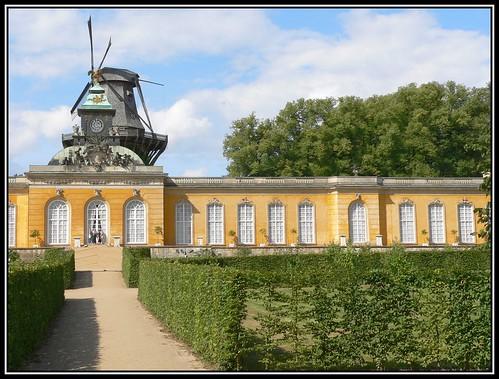 Neue Kammern und Historische Mühle