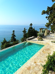 The pool (Sean.Eghtessadi) Tags: blue pool greece refreshing