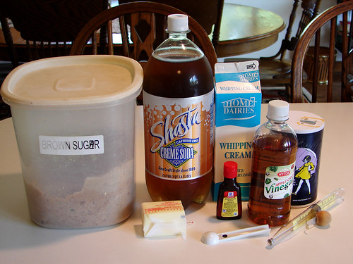 Butterbeer Ingredients