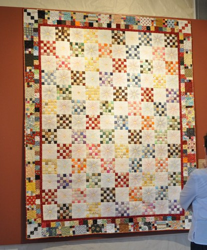 scrappy quilt, SMofA quilt show 2010