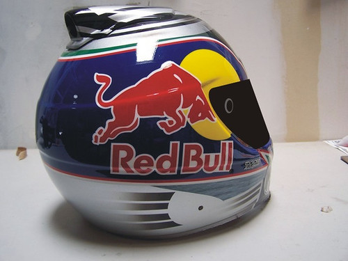 Redbull and IMS design by Beam Helmet Designs
