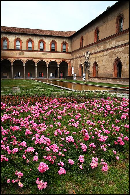 Sforza Castle garden