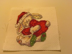 Santa Somebunny - finished 7/20/10