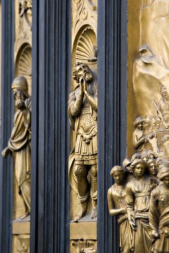 Bronze Doors Detail