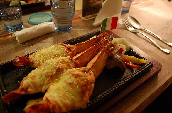 米蘭式烤大蝦