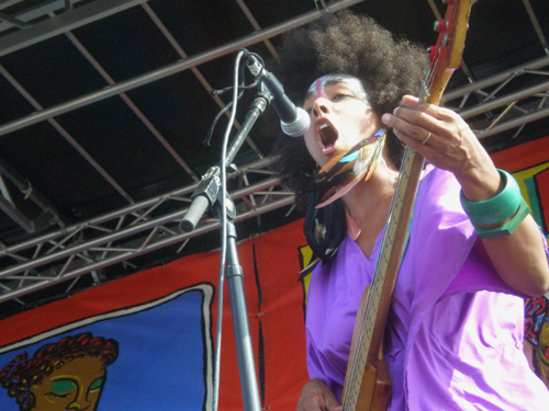 Earl Greyhound at the 10th Annual Village Voice Siren Music Festival, July 17, 2010
