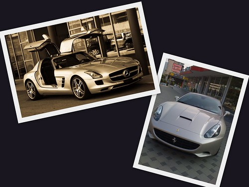 Mercedes SLS AMG vs Ferrari California