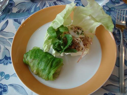 タイ風 挽肉のサラダ