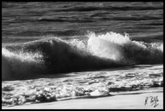 Tiempo de playa (el_morisco) Tags: costa mar playa invierno ola mazagn bnbw cuestamaneli