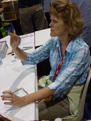 Carol Tyler at Fantagraphics, Comic-Con 2010