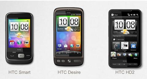 Các dòng smartphone của HTC 4820178867_02be894a91