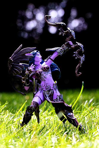 world of warcraft night elf hunter. Night Elf Hunter: Alathena