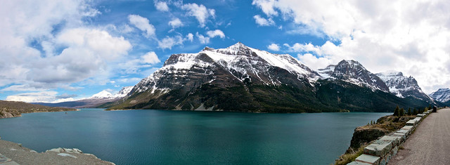 St Mary Lake, Panorama