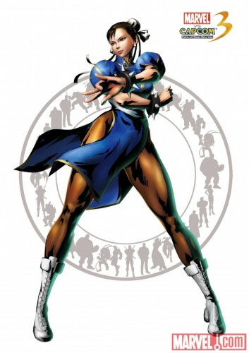 Marvel vs Capcom 3: Fate of Two Worlds Chun-Li of Street Fighter