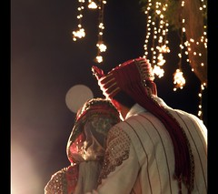 Two stand shoulder to shoulder against the gods... (D a r s h i) Tags: wedding two love couple marriage shaadi