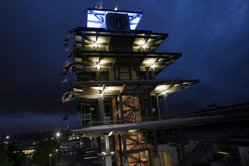 Early Morning Race Day Pagoda