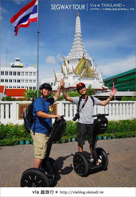 【泰國自由行】曼谷玩什麼?Segway塞格威帶你漫遊~12