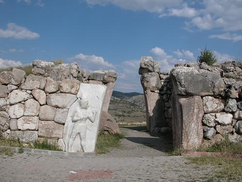 DSCN0969 Hattusas, porte du roi