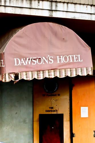 Jozi walkabout - Dawson's Hotel