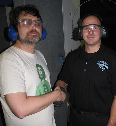 Our Instructor at the Gun Store