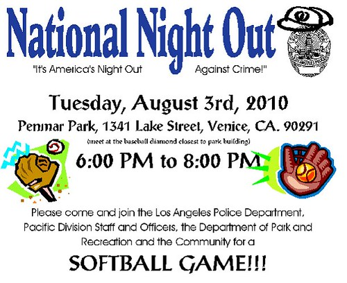 Penmar Park National Night Out