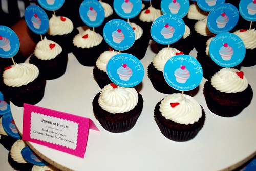 Queen of Hearts Cupcakes from Meringue Bake Shop