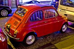 Fiat 500 (Curtis Gregory Perry) Tags: auto red brussels car nikon automobile belgium fiat mobil 600 motor 500 automvil xe d300 automobil     samochd  kotse  otomobil   hi   bifrei  automobili   gluaisten