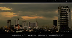 P_Lham-World. (P_Lham kun.( Go to work 1 week)) Tags: city panorama buildings nikon asia earth bangkok aasia rattanakosin  nikond90 earthasia  totallythailand nikod90 lhamkun  shutterismclub