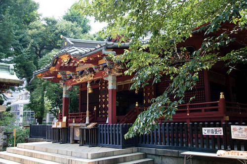 Konnoh Hachimangu  Shrine in Shibuya
