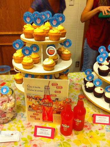 Orange Crush - the winner - at Cupcake Camp OC!