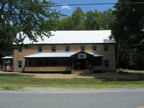 This Grange Hall was renovated with USDA funds provided to the  Maine Alternative Agriculture Association (MA3) and is now  a local farmers food processing and distribution facility.