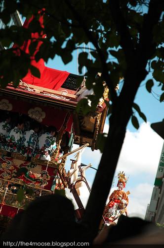 Kyoto 京都 - Gion Matsuri 祇園祭 Naginata Boko