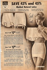 montgomery ward summer 1959 catalog (CapricornOneVintage) Tags: woman garter fashion vintage underwear ephemera departmentstore 1950s latex catalog wards 1959 montgomeryward girdle monkeywards