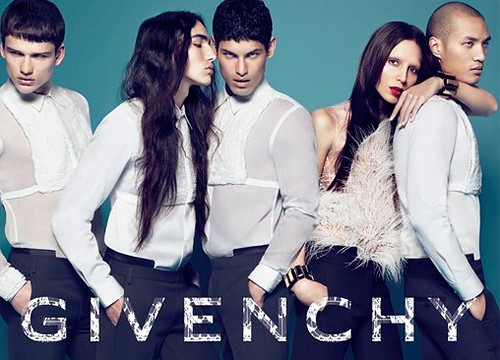 Transsexual model givenchy